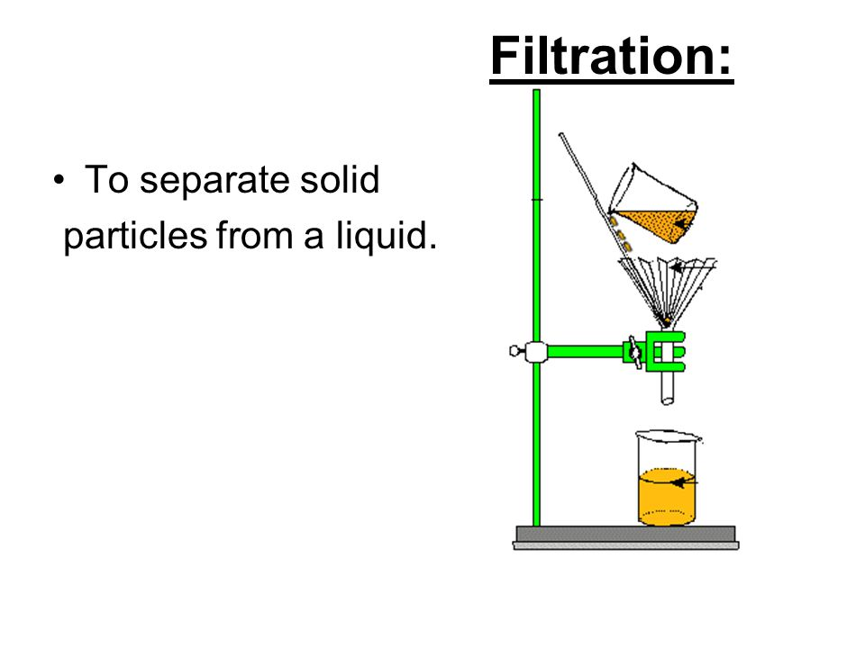 how to make a liquid into a solid