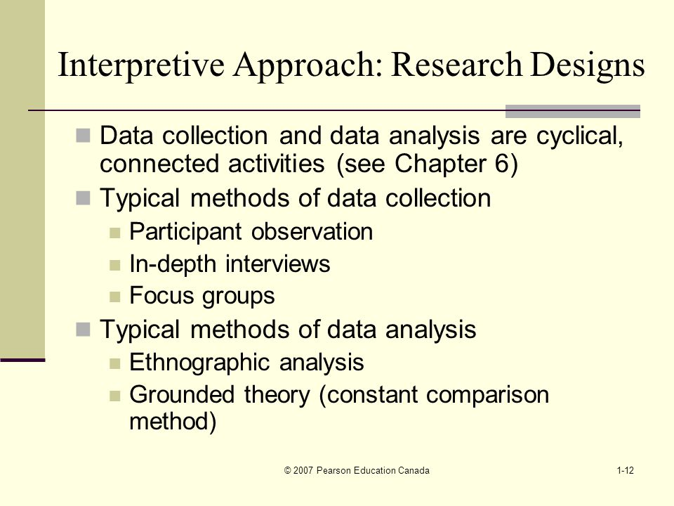 interpretive approach to research An interpretative phenomenological analysis (ipa) investigation of positive psychological change  approach was used and twelve  3121 funding the research.