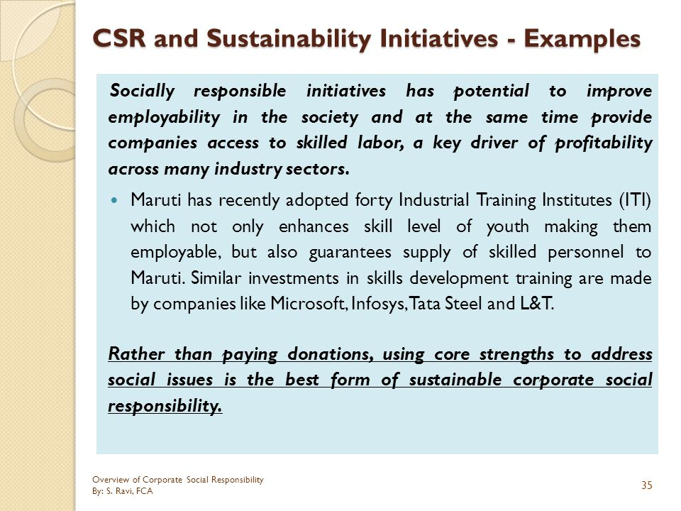 corportate social responsibility essay Corporate social responsibility (csr) is a concept whereby organizations consider the interests of society by taking responsibility for the impact of their activities on customers, employees, shareholders, communities and the environment in all aspects of their operations this obligation is seen to.