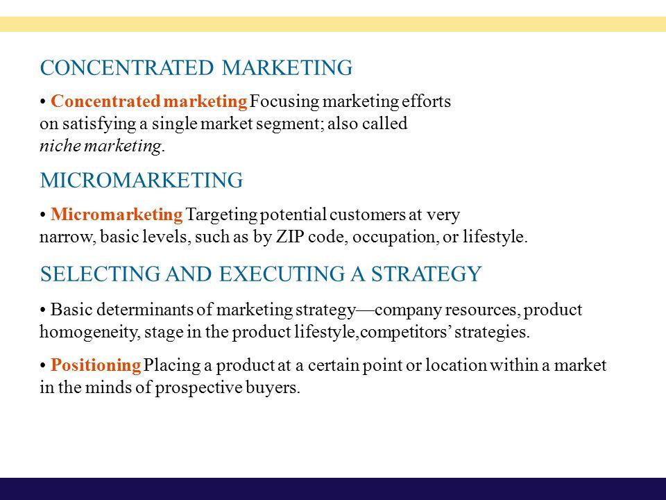 CHAPTER 9 Marketing Segmentation, Targeting, and ...