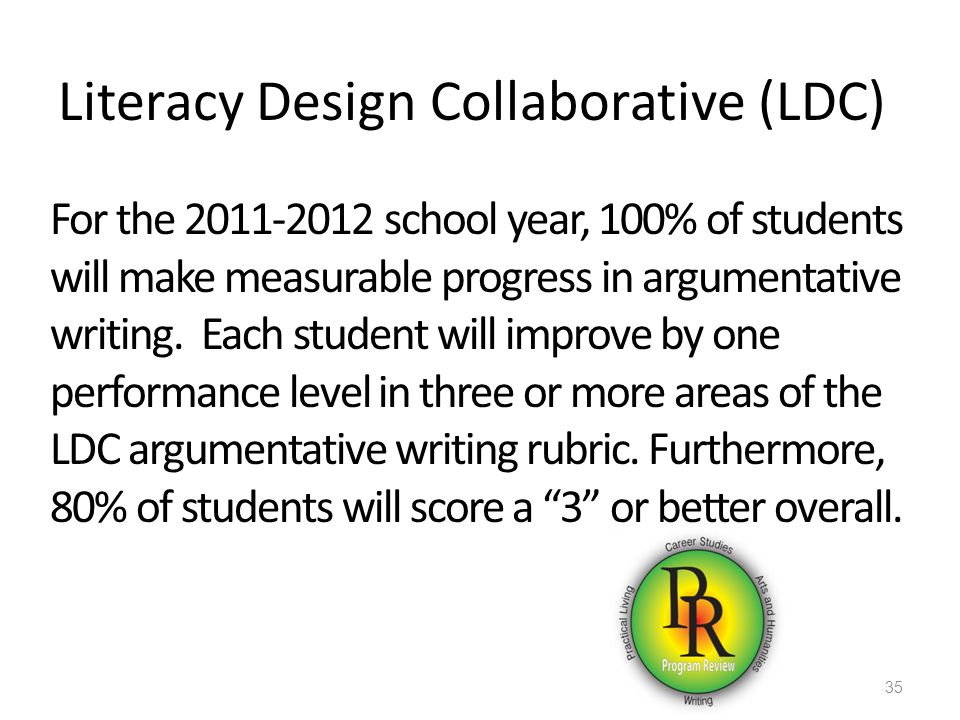 Literacy Design Collaborative (LDC)