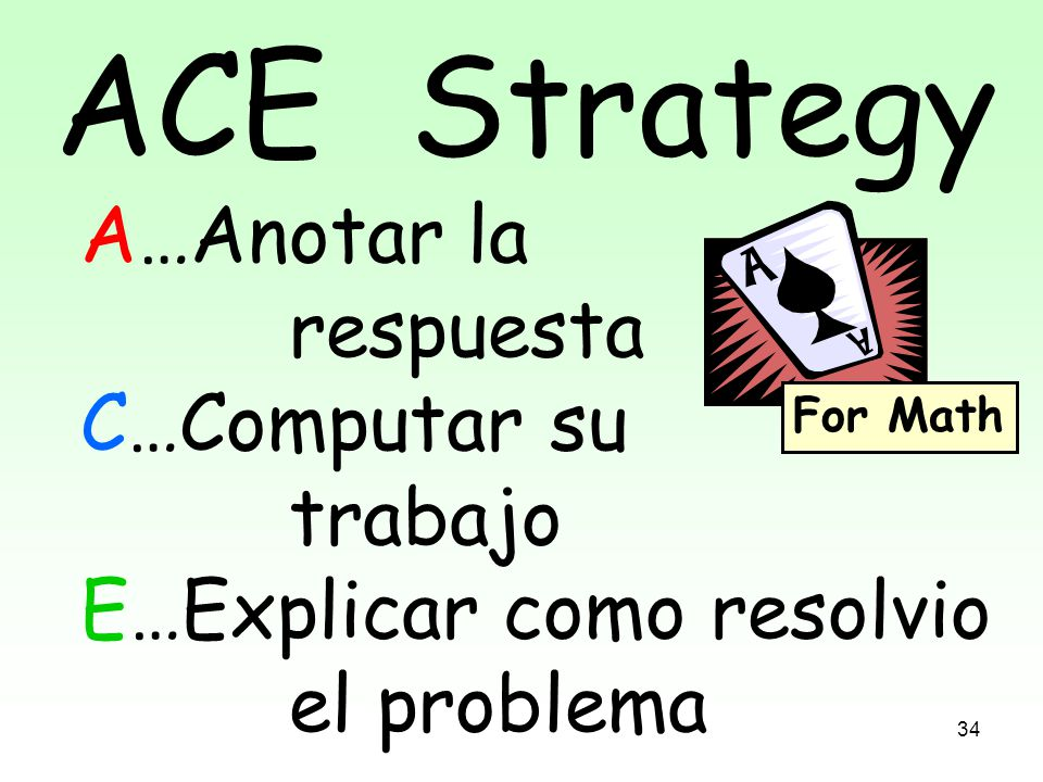 ACE STRATEGY ACE THOSE ANSWERS!! - ppt download