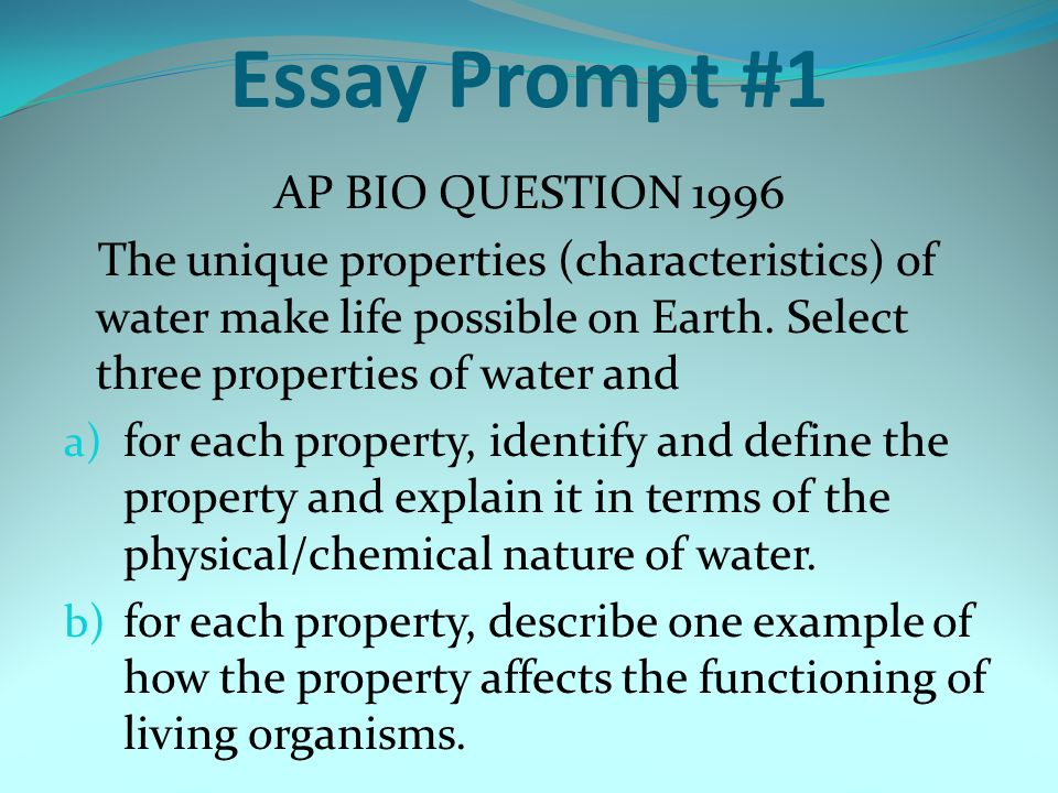 ap biology essay question 2003 Essay and objectives chemistry questions 2015 physics essay and objective question answer 2015 ap statistics  answers 2015 ap biology answer key 2003 ap.
