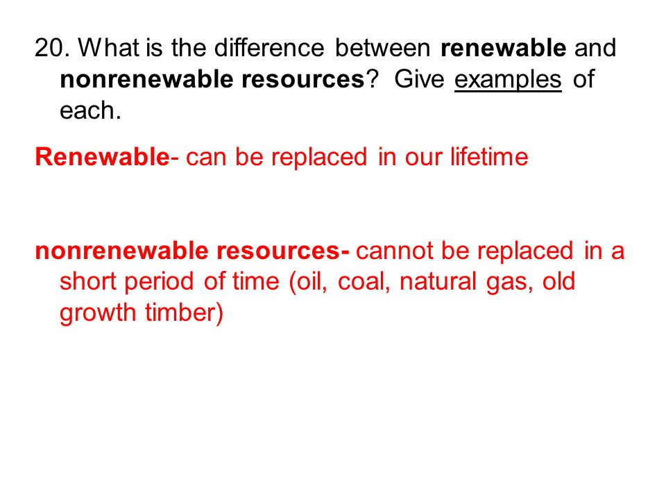 Difference Between Environment And Natural Resources