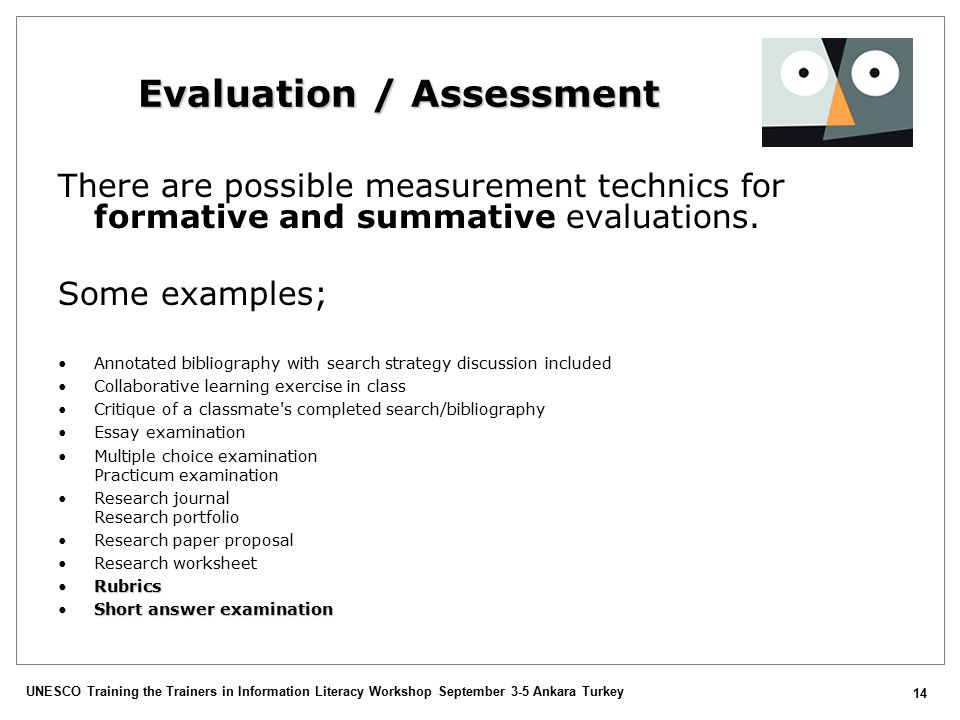 formative and summative assessment 3 essay Question part 1 formative versus summative assessment receiving feedback as a student—be it formative or summative—is an essential part of learning we strive for information on how we are doing and what we can do to improve.