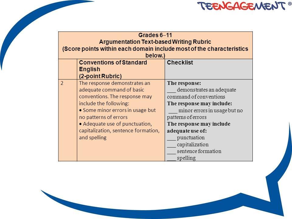 writing argumentative essay 6th grade