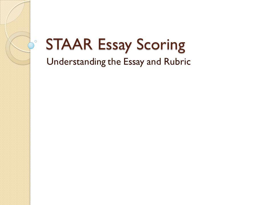 staar essay