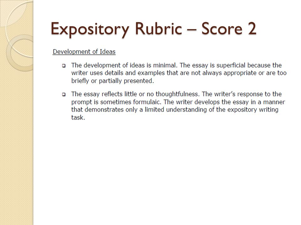 rubrics for evaluating an essay An essay rubric is a way teachers assess students' essay writing by using specific criteria to grade assignments essay rubrics save teachers time because all of the.