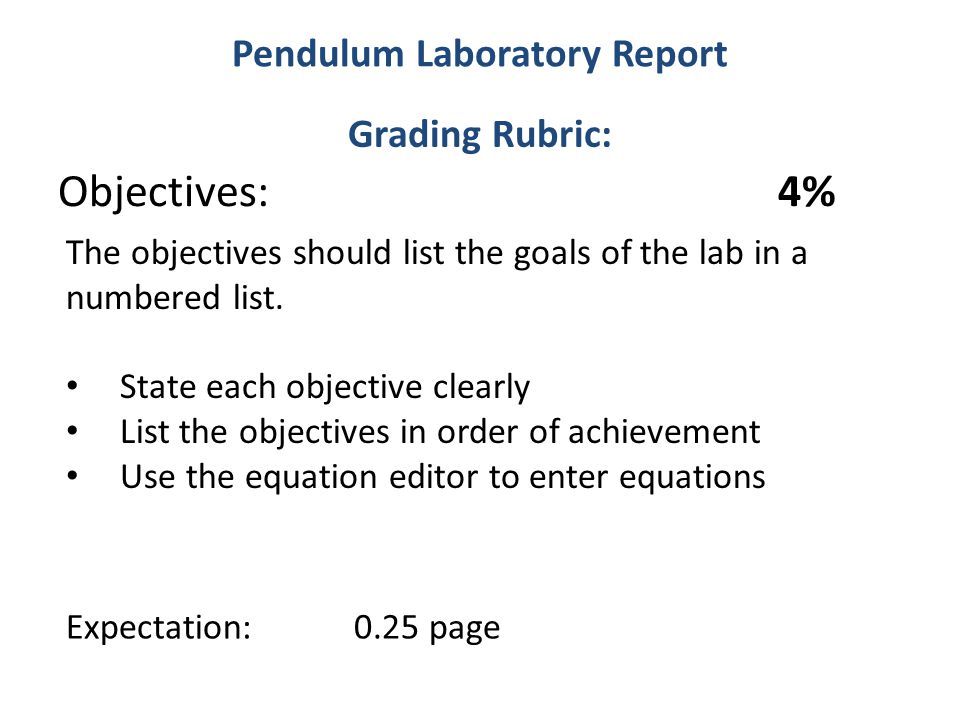 list the parts of a lab report in order The formal lab report is thus the critical document which reflects  an  experimenter must take in order to accomplish the stated purpose  for all  graphs which you construct, state the equation and discuss its significance.