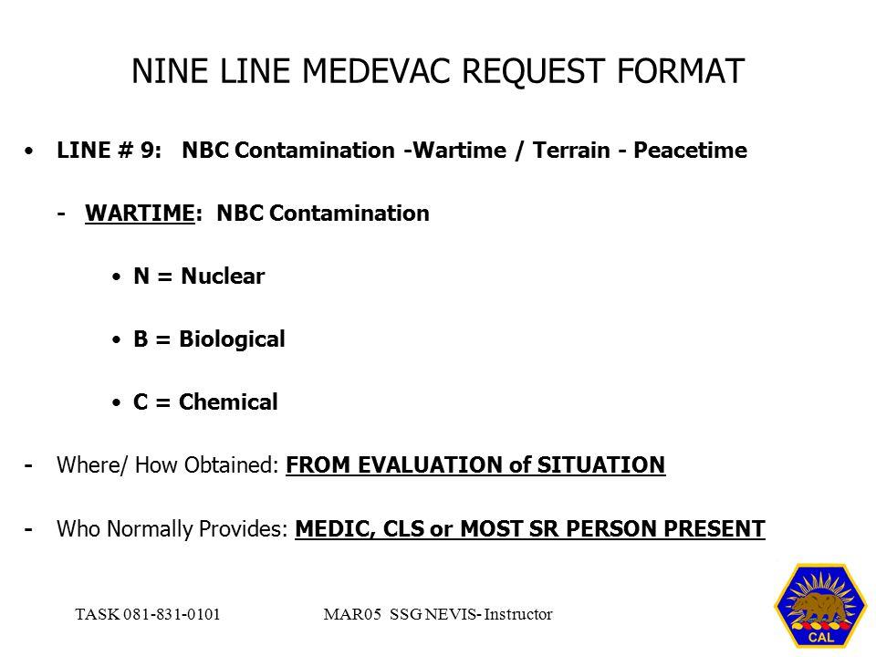 graphic regarding 9 Line Medevac Card Printable known as 9 Line Medevac Powerpoint Amulette -