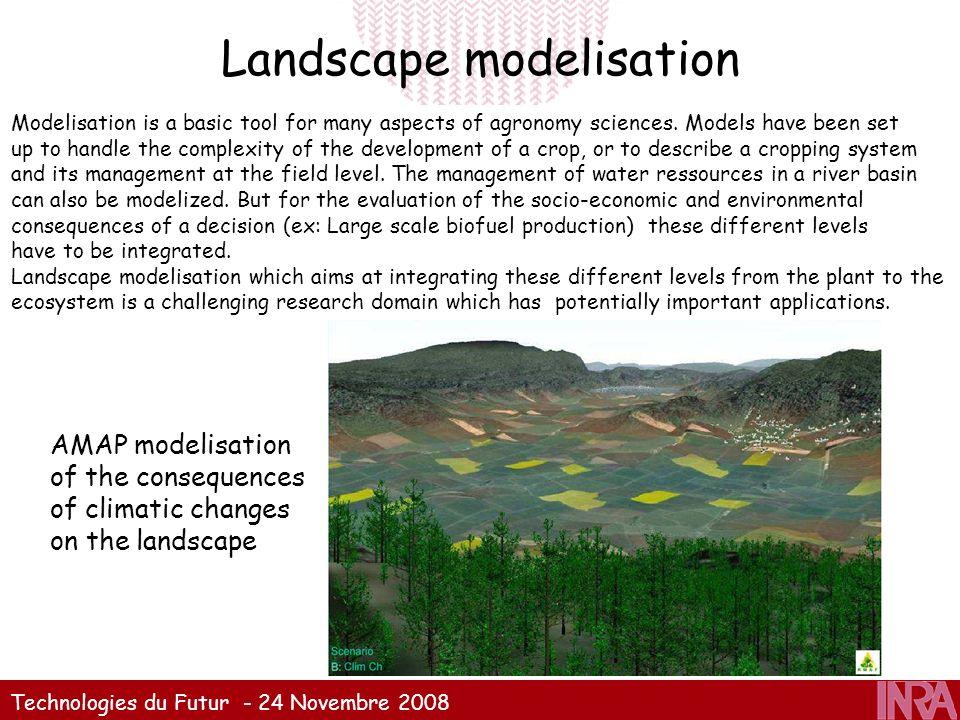 Landscape modelisation