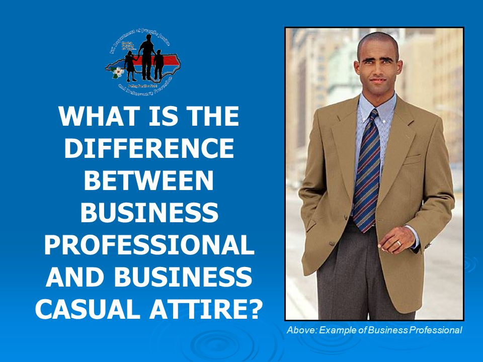f29db6ea450 1 WHAT IS THE DIFFERENCE BETWEEN BUSINESS PROFESSIONAL AND BUSINESS CASUAL  ATTIRE