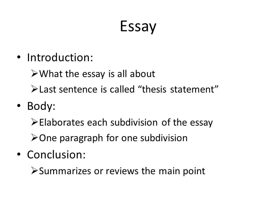 write an anylitical essay