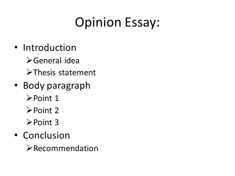 can an essay have one body paragraph Developing body paragraphs within an essay you can visualize a body paragraph as identification of body paragraph elements: topic sentence: one of the.