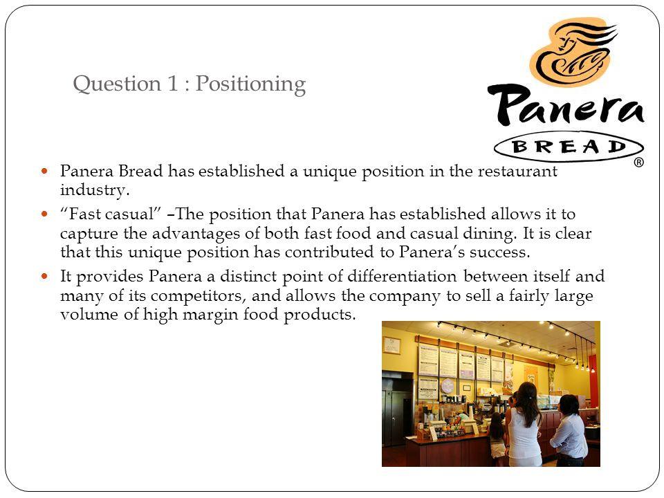 positioning strategy panera bread