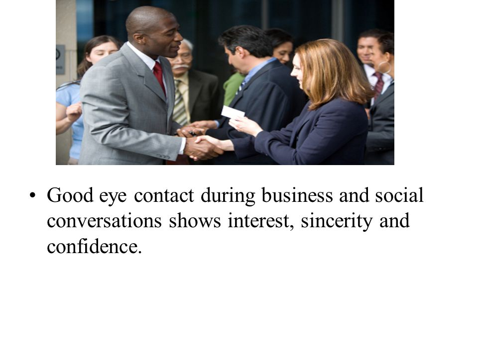 eye contact with japanese businessmen While japanese and koreans bow like americans wave their hands, chinese typically bow only during funerals, weddings and formal occasions watch your eye contact while american business etiquette encourages sustained eye contact as a way to convey sincerity and respect , maintaining too much eye contact with a chinese can be interpreted as a.