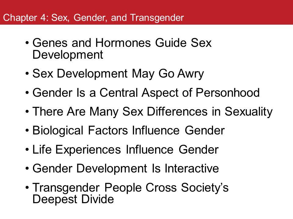 Chapter 4: Sex, Gender, and Transgender