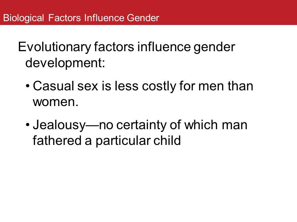Biological Factors Influence Gender