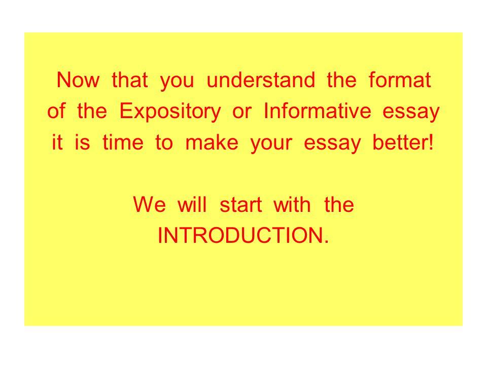 short expository essays