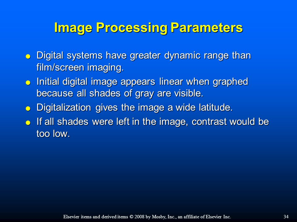 chapter 7 digital radiographic image processing and manipulation ppt