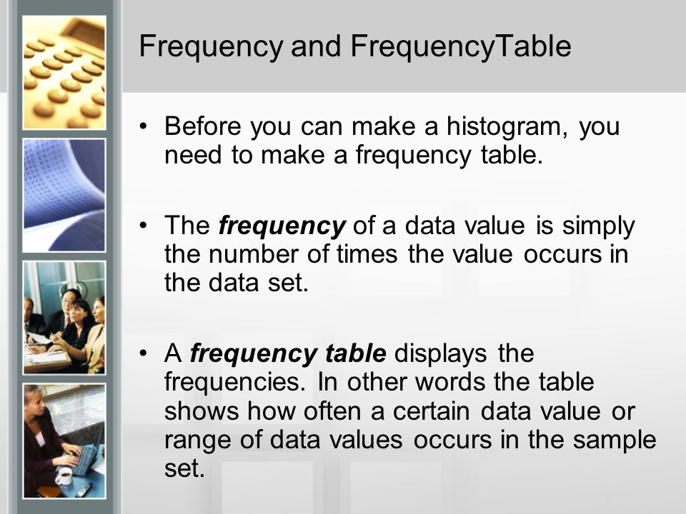 how to find the range in a frequency distribution table