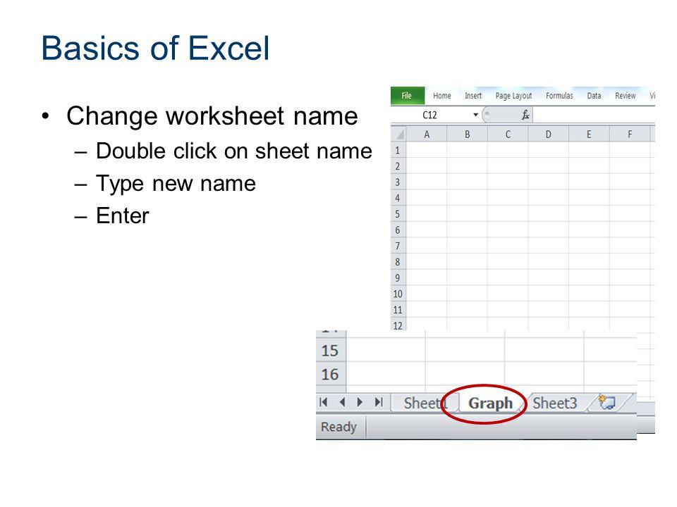 Statistical Analysis with Excel ppt video online download – Excel Formula Worksheet Name