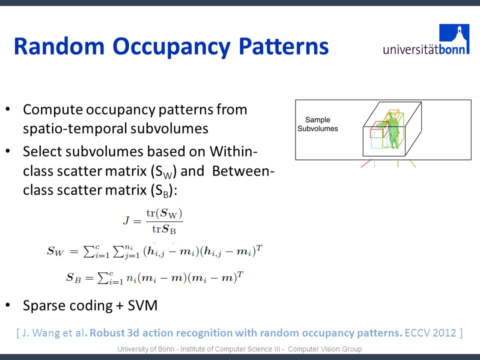 Random Occupancy Patterns