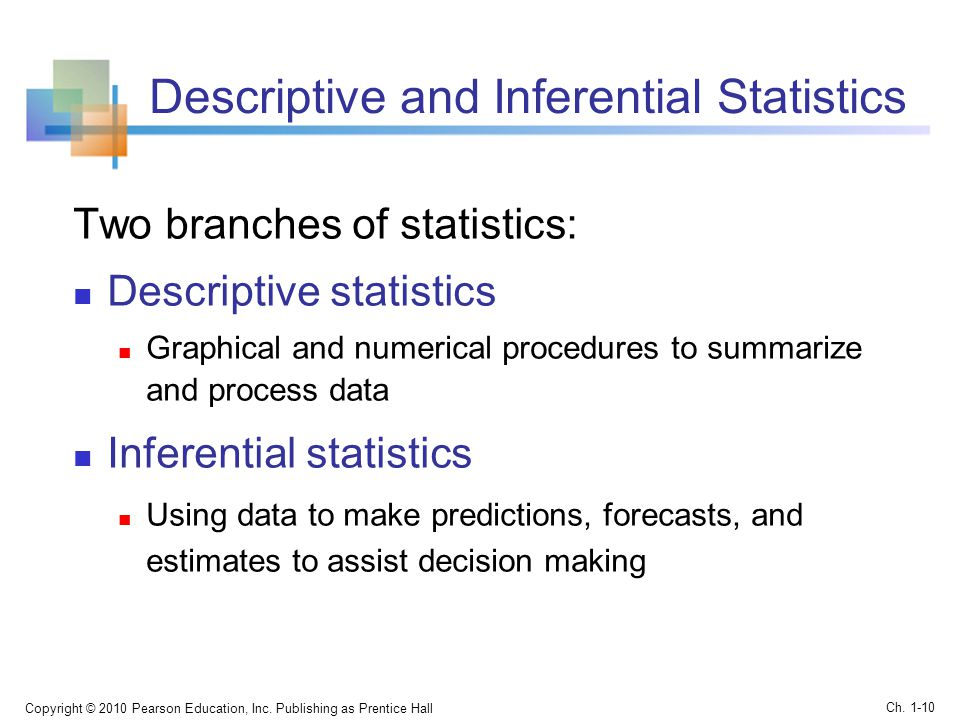 descriptive and inferential statistics What are the main differences between descriptive and inferential statistics give examples of each when would random sampling not be the best approach to sample selection.