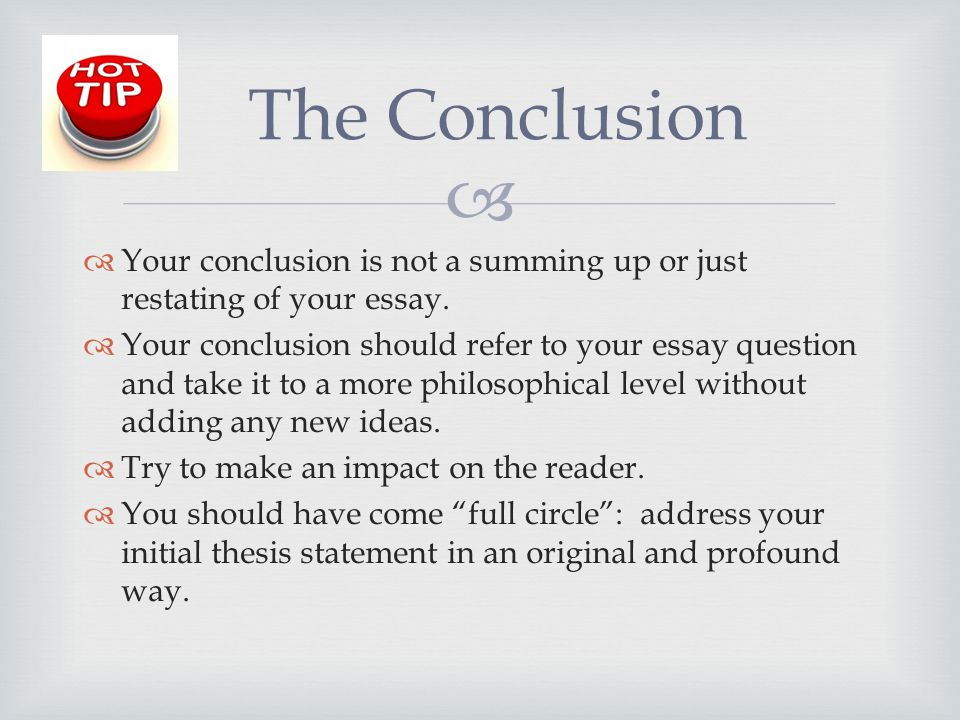 Concluding Words For Essays