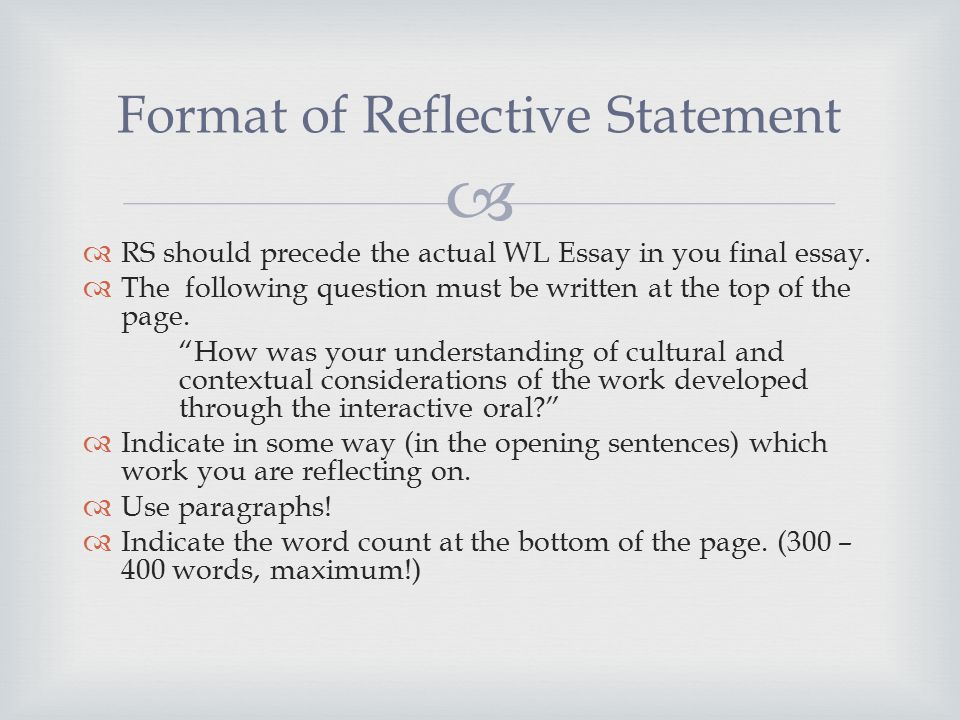reflective pie paragraph A paragraph is a group of related sentences detailing one clear point related to your thesis a good paragraph is thoughtful, unified, coherent, and well-developed if you are having trouble developing or explaining your key points within your paragraphs, check to see if your paragraphs have these three essential structural parts: a point.