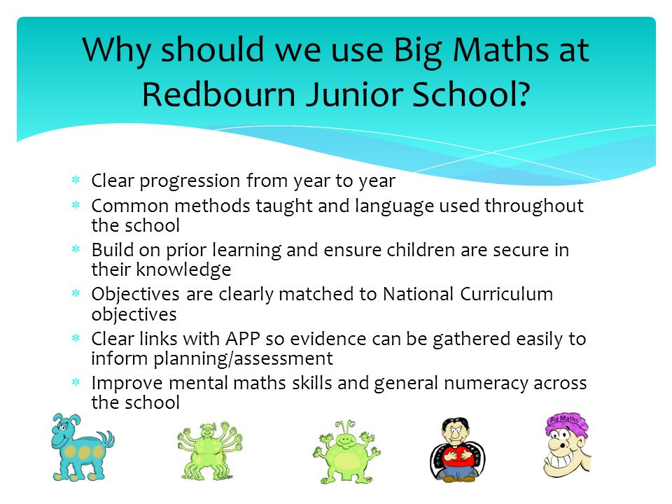 Big Maths at Redbourn Junior School - ppt download