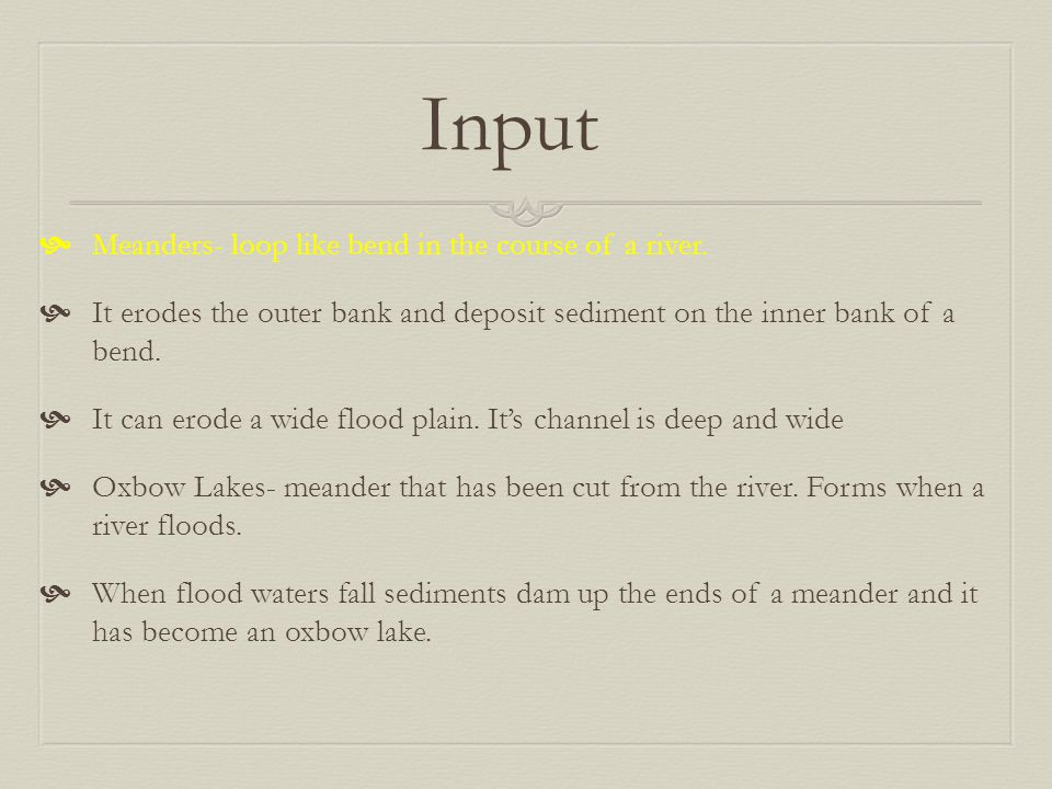 Water Erosion Chapter 3 Section ppt video online download