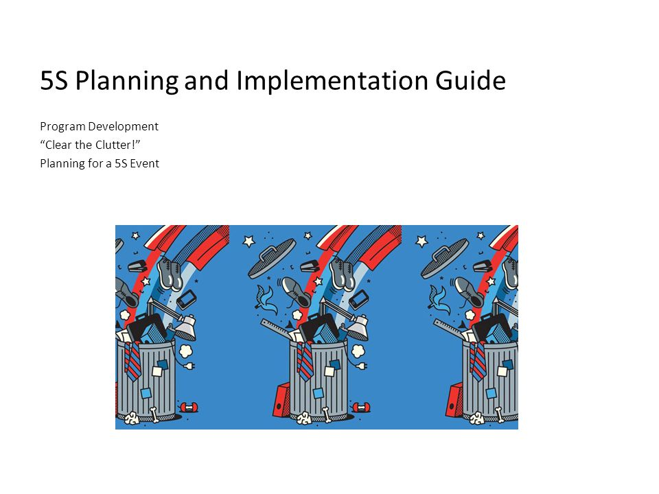 Introduction to Planning: Implementation of the Plan