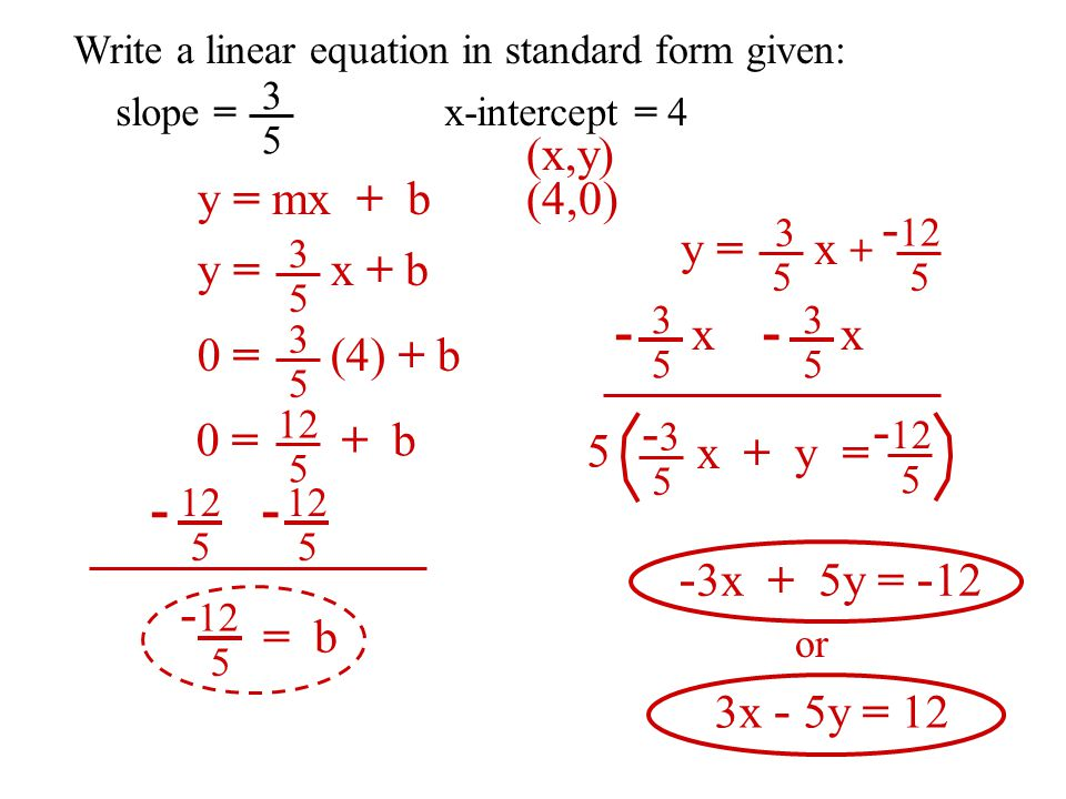 Writing An Equation In Standard Form Custom Paper Writing Service