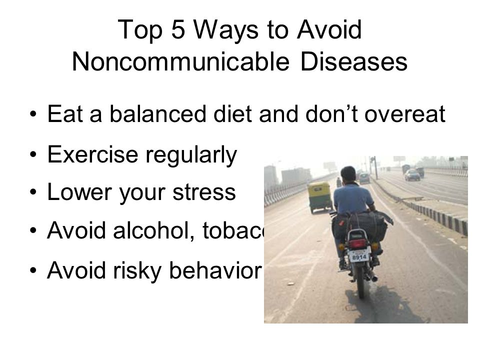 Top 5 Ways to Avoid Noncommunicable Diseases