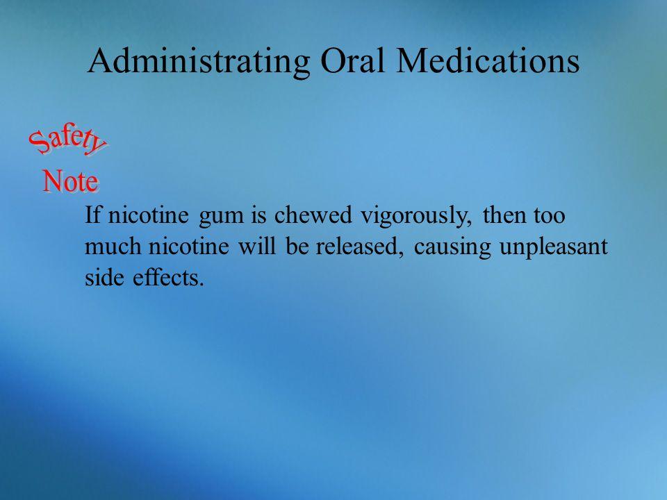Administrating Oral Medications