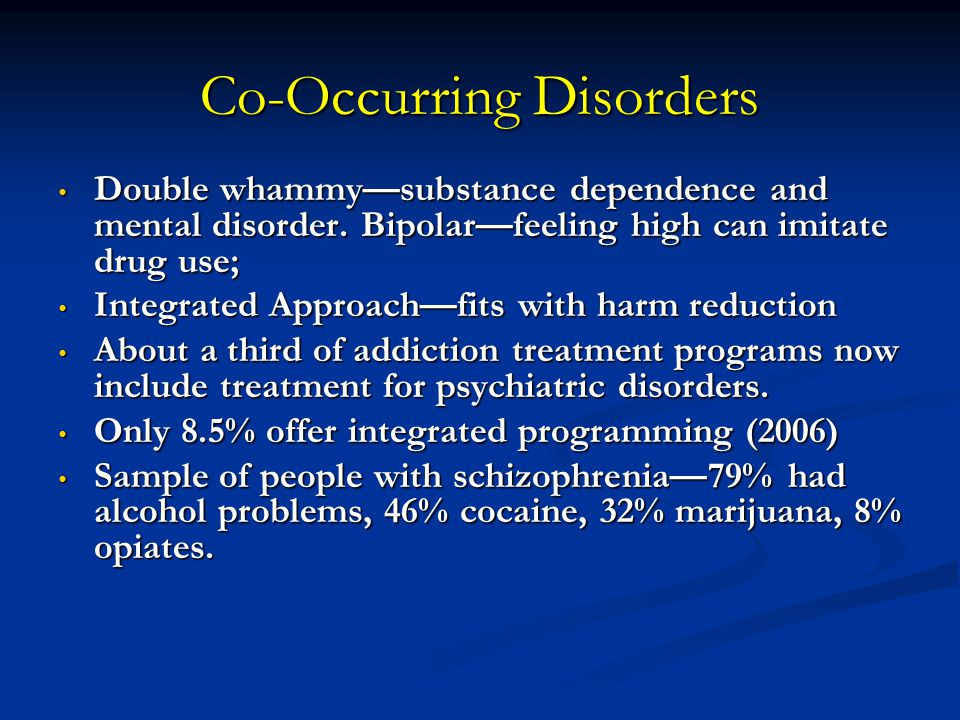 co occurring disorder