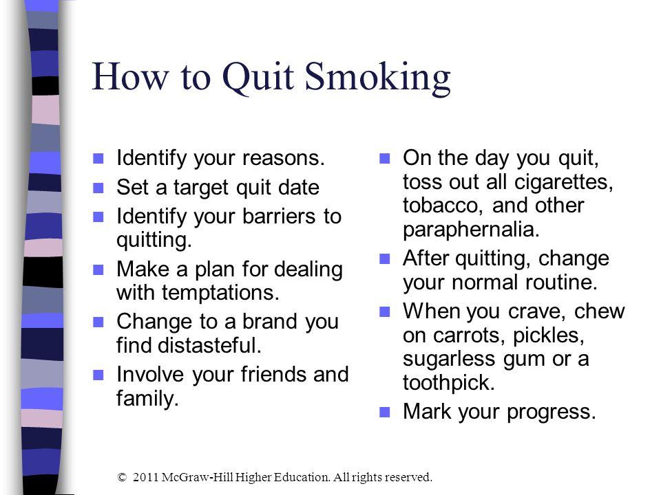 30 day quit smoking plan pdf