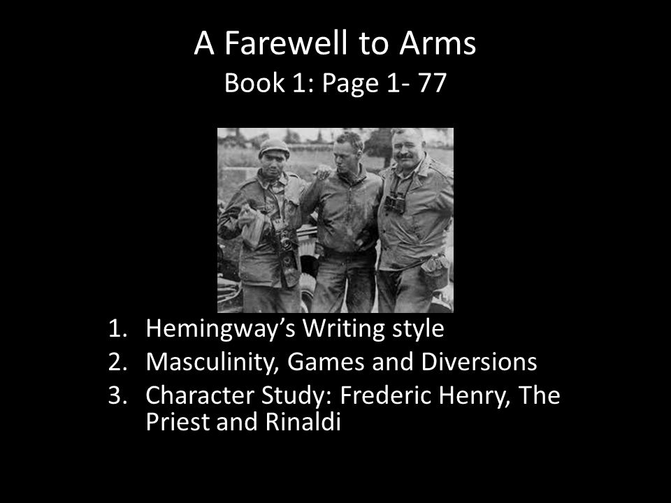 literary analysis of the novel a farewell to arms A farewell to arms begins in the alps around the frontier between italy and present-day slovenia allied with britain, france, and russia against the austro-hun.