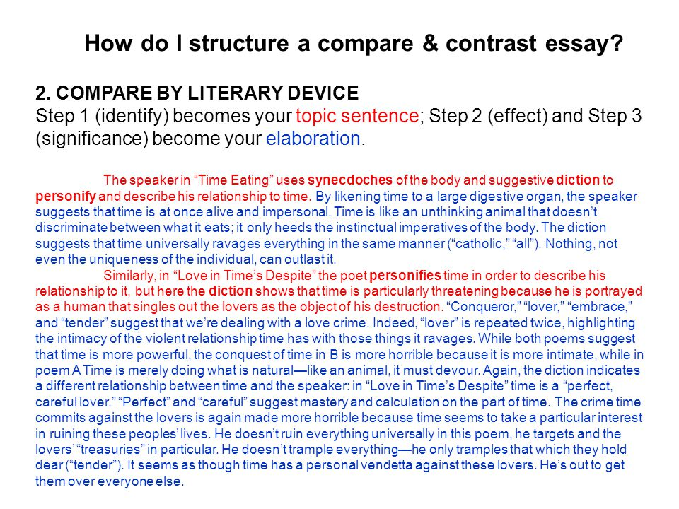 a brief overview of particular problems ppt how do i structure a compare contrast essay