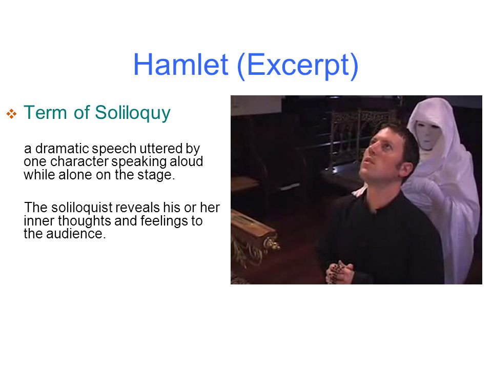 """hamlets soliloquies reveal his personality While hamlet is searching for an answer to his queries such as, """"to be, or not to be  claudius' role and personality in shakespeare's hamlet."""