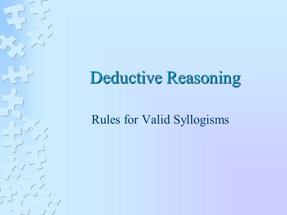 syllogism essay Test on ordinary language arguments identify the form and discuss the soundness or unsoundness of the following argument from locke's essay: syllogism.