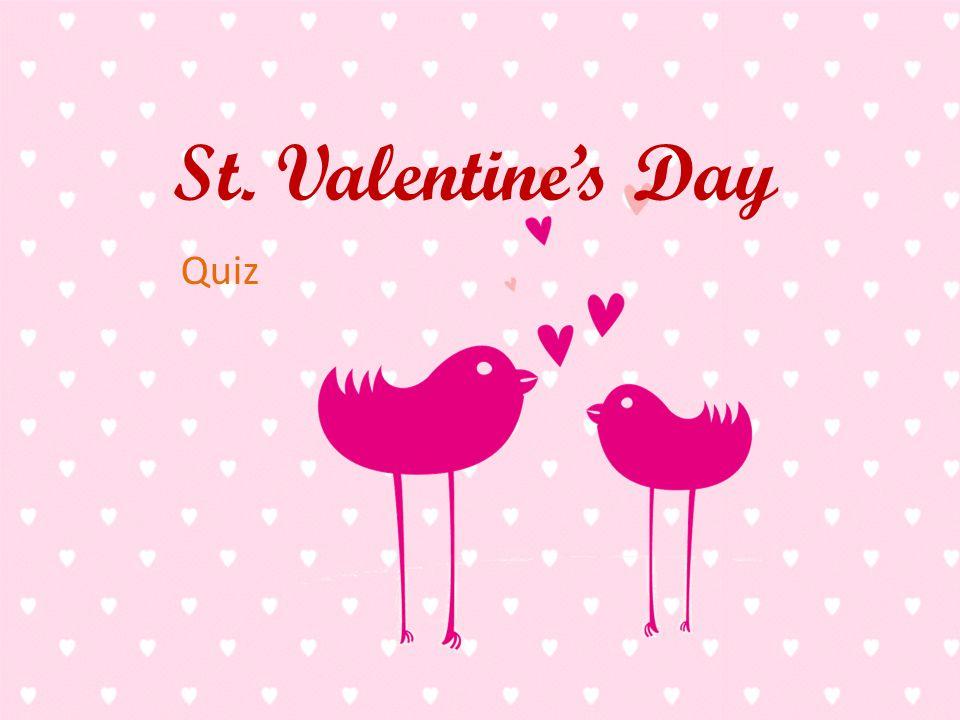 1 st valentines day quiz