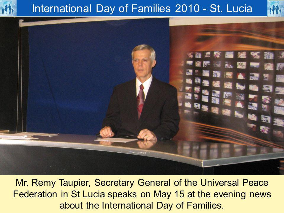 International Day of Families St. Lucia