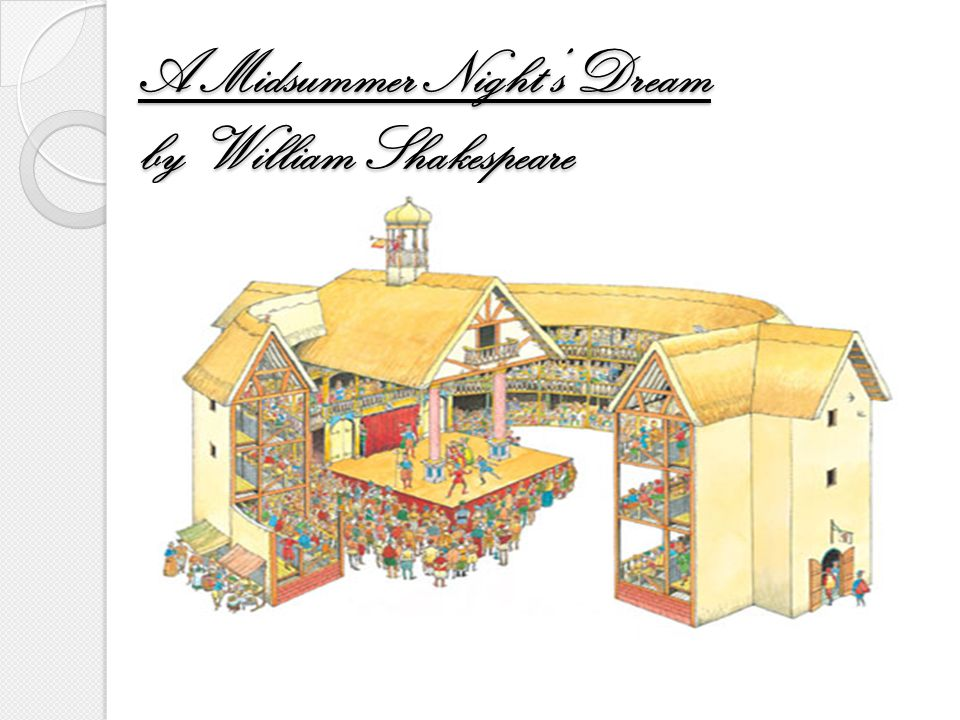 a midsummer night s dream by william No fear shakespeare by sparknotes features the complete edition of a midsummer night's dream side-by-side with an accessible, plain english translation.