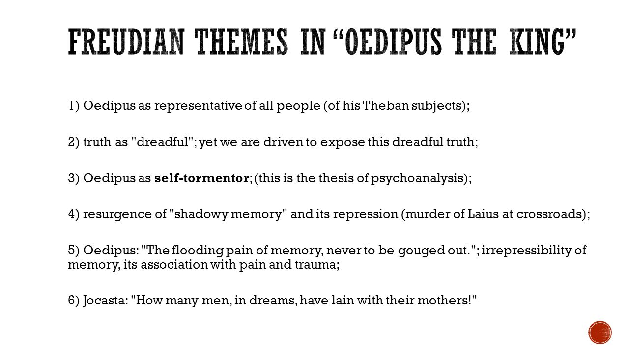 compare and contrast oedipus rex essay