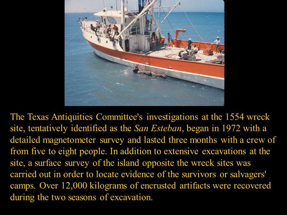 Spanish Ship San Padre Island