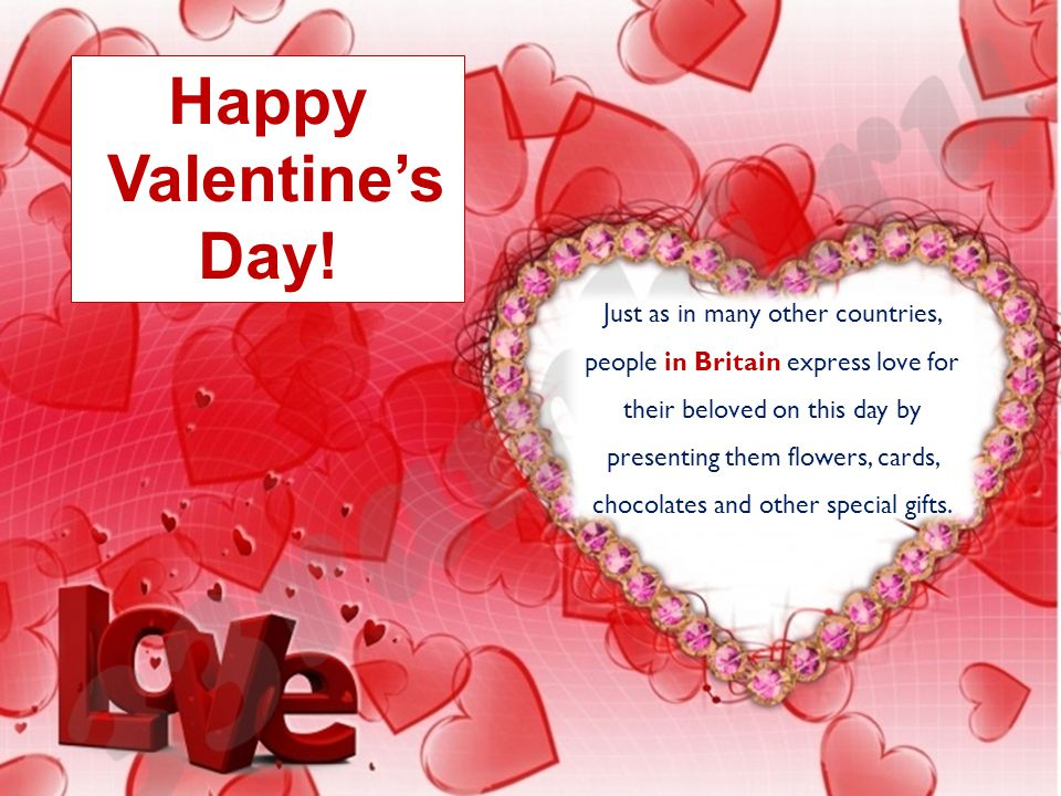 Happy Valentine\'s Day!. - ppt video online download