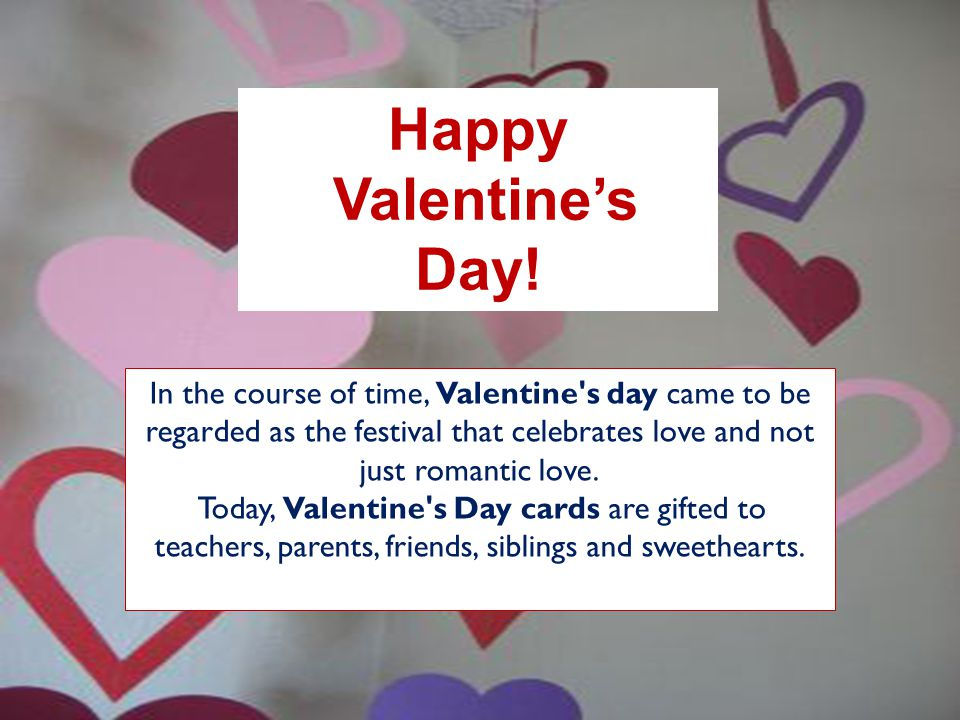 happy valentine's day!. - ppt video online download, Ideas