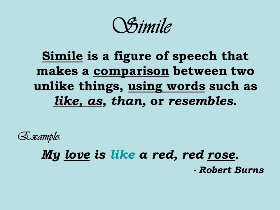 comparison between poem red red rose A red, red rose [hear red, red rose] 1794 type: poem o my luve's like a red, red rose, that's newly sprung in june: o my luve's like the melodie.